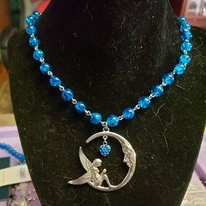 Fairy moon necklace